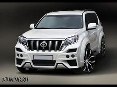 13-16 Toyota Land Cruiser Prado 150 тело набор передний бампер задний для губ агрессивный