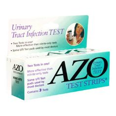 AZO Urinary Tract Infection Test Strips, 3-Count Boxes (Pack of 2) by AZO, http://www.amazon.com/dp/B001G7R2PW/ref=cm_sw_r_pi_dp_zxycqb0Z9XMHP