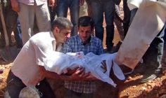The father of Alan and Galib Kurdi, two brothers who drowned while trying to reach Greece with the family and others on a boat, buried his young sons and wife Reham in Kobani, Syria, on Sept. 4, 2015. After the funeral, Kurdi called on Arab governments, rather than Europeans, to ensure that his children are the last to die in such a way. Pictures of three-year-old Alan lying dead on a beach in Turkey caused outrage around the world.