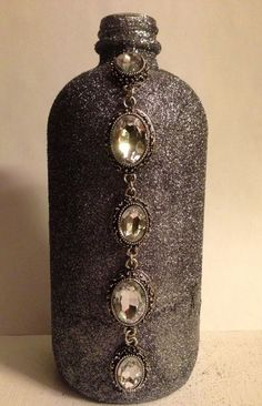 Silver Vase.  Diamond Vase.