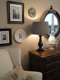 Decorating by number {or letter} - The Inspired Room