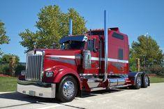 Big Rig Wall Art - Photograph - Kenworth Semi Truck by Tim McCullough Big Rig Trucks, Semi Trucks, Lifted Trucks, Peterbilt Trucks, Chevy Trucks, Pickup Trucks, Trailers, Truck Art, Thing 1