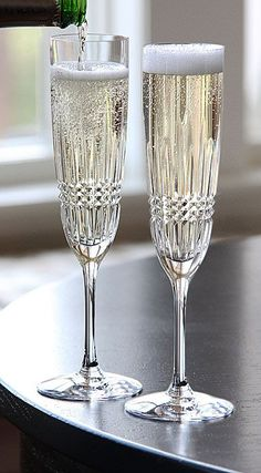 Waterford Lismore Diamond Toasting Flute from Crystal Classics