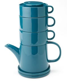 Biscay Blue Tea Tower 4 Two | Yedi Houseware