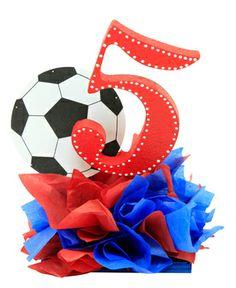 Decoración para fiestas infantiles / Recuerdos / cumpleaños 5 años Messi Birthday, Soccer Birthday Parties, Soccer Party, Sports Party, Birthday Party Themes, 5th Birthday, Soccer Decor, Soccer Theme, Barcelona Party