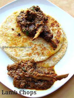 Indian Style Lamb Chops / Mutton Chops
