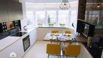 Квартирный вопрос /  Интерьер для кухни с теплым деревом