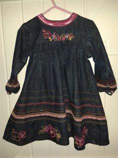 Embellished denim Baby Blues beautiful dress £20.00See https://folksy.com/shops/sldelaney