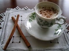 Salep: a traditional Turkish hot drink which was also served during the reign of the Ottoman empire. The roots are rich in starch and the mixture thickens naturally. (by Binnur)