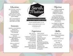 How about a landscape CV with border to showcase print design? This one by sarahmutter.co.uk