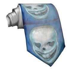 love-skull-2, corbatas personalizadas