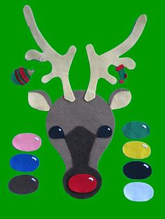 Loons and Quines @ Librarytime: Flannel Friday: Rudolph! Rudolph! With template
