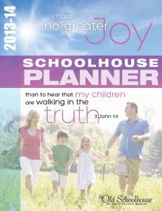 Old Schoolhouse Planner Giveaway - A Planning Page For Everyone! Ends Curriculum Planner, Old School House, Teacher Organization, Learning Tools, How To Plan, Children, Ideas, Giveaways, Homeschooling