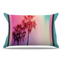 East Urban Home La Rainbow by Nina May Pillow Sham Size: King