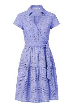 From bridal showers to baby showers, the DVF Kaley Two Cotton Wrap Dress has you covered.