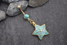 Starfish Belly Button Rings
