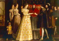 Matrimonio de Catalina de Medicis con el Duque de Orleans,segundo hijo de Carlos I Rey de Francia