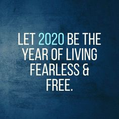 New years day pictures happy for 2020 year : Let 2020 be the year of living fearless & free. Positive Affirmations, Positive Quotes, Motivational Quotes, Inspirational Quotes, Quotes About New Year, Year Quotes, Happy New Year Pictures, Note To Self, Wise Words