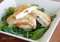 Lighter Chicken Saltimbocca #lowcarb #prosciutto #dinner #salad