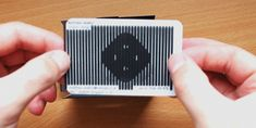 Scanimated Animated Business Card by Matthew Skelton (GIF). 27 Unconventional Business Card Designs