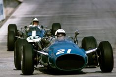 Guy Ligier at the 1966 Monaco Grand Prix