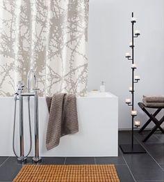 Bathroom large tiles