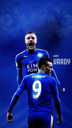 Leicester City Fc Wallpaper, Leicester City Football, Jamie Vardy, City Wallpaper, English Premier League, Football Wallpaper, Football Fans, Cool Pictures