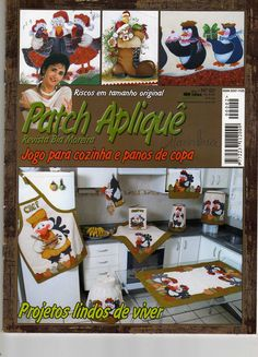 Patch Aplique. --  Applique patterns and ideas