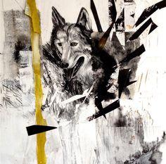 lupus.jpg (Malerei) von Gaby Roter