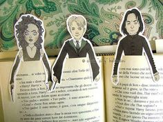 These characters for the proud Slytherin: