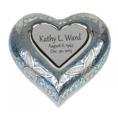 Forever Homeward Bound Heart Personalized