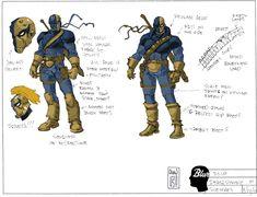 Deathstroke Cosplay, Dc Deathstroke, Deathstroke The Terminator, Comic Books Art, Comic Art, Super Hero Costumes, Dc Universe, Rogues, Dc Comics