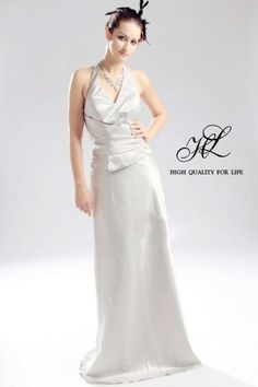 Floor length Backless White Taffeta A-line lf-00002  http://www.mydresspro.co.uk/191-isabella2012-new?p=2