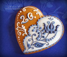 Beautiful Gingerbread Ajándkékok: wedding thank you gift