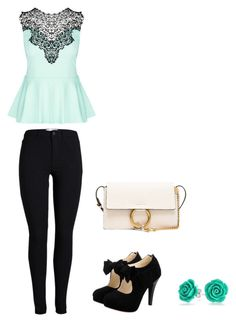 """""""Woman ❤"""" by puskaseniko on Polyvore featuring beauty, City Chic, Chloé and Bling Jewelry"""