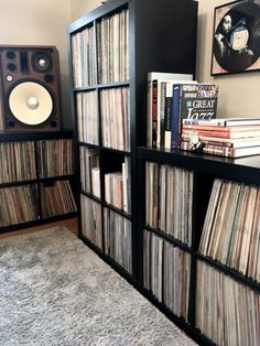 Our collector this week boasts an all-vintage hi-fi set-up and a collection built exclusively of original jazz albums from the and Vinyl Record Player, Vinyl Record Storage, Lp Storage, Vinyl Records, Pallet Tv Stands, Tv Stand Console, Vinyl Room, Audio Room, Vinyl Music