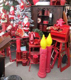 Christmas decor Nashville Flea Market