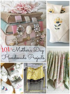 102 Homemade Mothers Day Gifts {Inspiring Ideas to Make Yourself} #mothersday #handmade
