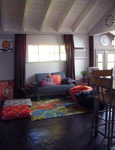 "Please vote for ""Lena's Canyon Cabin""! Living Room Decor, Living Spaces, Bedroom Decor, Living Rooms, Small Apartments, Small Spaces, Living Room Inspiration, Design Inspiration, Apartment Interior"