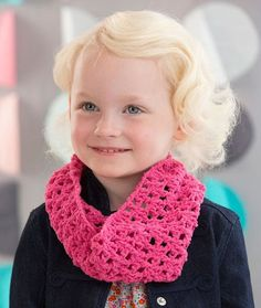 Kiddo's Crochet Cowl