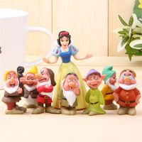 Snow White and 7 Dwarfs Hand office earners Micro Landscape Decoration Wholesale Free shipping