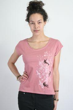 Kletterer-Shirt, Fair Wear von Spangeltangel auf DaWanda.com