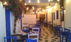 greek restaurant interior design ideas - Buscar con Google