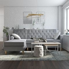Ashley furniture coralayne 3pc coffee table set living room family room pinterest round - Round table montgomery village ...