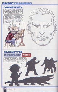 Scan from Wizard Magazine 147. Basic Training: Part 5 of 6 Joe Kubert shows how to do lighting. p120