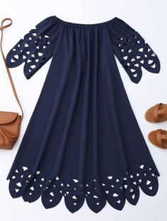 SHARE & Get it FREE | Off The Shoulder Flared Dress - Purplish BlueFor Fashion Lovers only:80,000+ Items • New Arrivals Daily Join Zaful: Get YOUR $50 NOW!