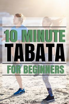 Try this 10-minute tabata workout... great for beginners! #Beginners #Tabata