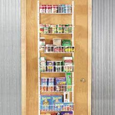 1000 Images About Door Mounted Spice Rack On Pinterest