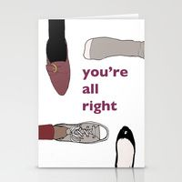a few punny Valentine's Day cards by yours truly >> Stationery Cards by Miriam Naumann | Society6