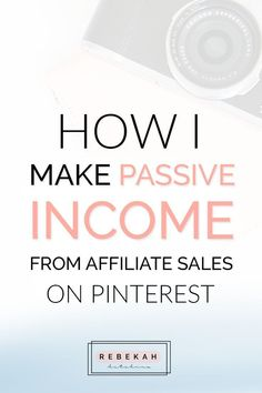 Check out these affiliate marketing tips for beginners who want to make money online. Learn about programs you can join and how you can make passive income by pinning your affiliate links on Pinterest. If you're a blogger or online business owner interested in earning money with affiliate marketing, click through for advice and ideas! #linkedinmarketing